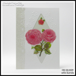 Full Bloom Roses Card, Greeting Cards blank Handcrafted Cards and Gifts In stock