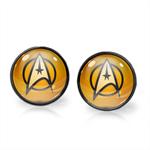 STAR TREK EARRINGS (GUNMETAL)