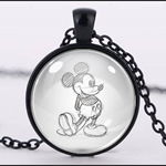 MICKEY MOUSE PENDANT (BLACK)