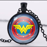 WONDER WOMAN PENDANT (BLACK)