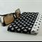 Glasses case, sunglasses case - Fleur de lis, flex frame opening