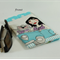 Glasses Case - Sun Glasses Case - fun, quirky lady with cat, flex frame