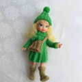 Disney Tinkerbell Doll with Green Cabled 4 Piece Outfit