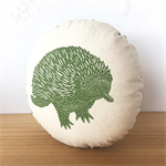 Echidna pillow // Animal pillow // Decorative pillow // Nursery decor