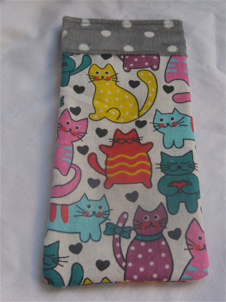 Kitty Themed Glasses Case