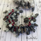 Charm Bracelet,  Charms, Pink, handmade, Charms, Boho Bracelet, Artisan
