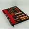 A5 Journal Cover with journal and pen holder / bookmark - books, library