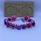 Pink Skulls & Roses Beaded Bracelet