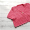 Little Cardigan - Hand Knitted - Size 1 - 100% Cotton