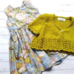 Little Cardigan - Hand Knitted - Size 1 - 100% Australian Merino Wool