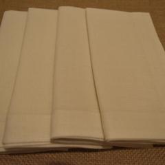 Dinner Napkin Cream - Set of 4, 6 or 8