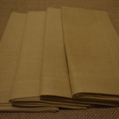 Luncheon Napkin Caramel - Set of 4, 6 or 8