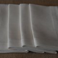Luncheon Napkin White - Set of 4, 6 or 8