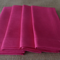 Luncheon Napkin Fuchsia - Set of 4, 6 or 8