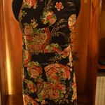 Black Apron - Kimono Fan