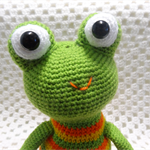 Frog, READY TO POST, Crochet Toy,  Boy Gift