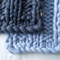 Chunky Merino Baby Blanket