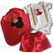 Red Mickey Prince Boys Cake Smash / 1st Birthday Outfit - 4 Piece Set