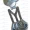 Light Blue & Grey Vintage Paperboy Boys Cake Smash / 1st Birthday Outfit