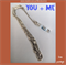 YOU + ME dolphin bookmark