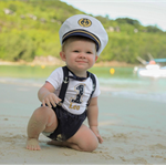 Elite Ship Captain Boys Cake Smash / 1st Birthday Outfit