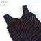 Black Glittery Velvet Basic Leotard - Size 7