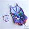 Floral Ruffle One-Piece Swimsuit - Size 3