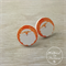 Christmas - Santa - Stud Earrings