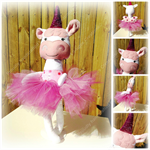 Made to Order Unicorn Soft Doll/ Magical Unicorn Soft Toy/Made to Order Plush