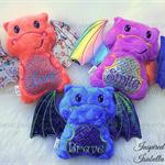 Minky Dragon Soft Toy (Custom Made)