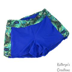 Ladies Peacock Swim Shorts - Size 10