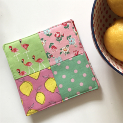 Fabric Patchwork Coasters