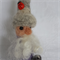 Alpaca Fibre Art needle felted gnome