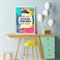 "Affirmation Print "" Little Girls with Dreams"" - Art Print, Nursery Art"