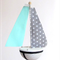 Twirling Sail Boat in  Spots Room Decoration