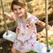 Girls summer Cotton dress -  Gypsy Rose, Organic Cotton