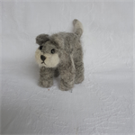 Alpaca Fibre Art needle felted cat