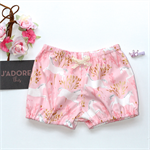 Pink, gold & cream unicorn baby girls  bloomer, flexi shorts / nappy cover