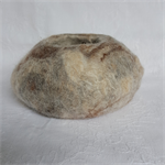 Alpaca Fibre Art felted bowl