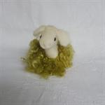 Alpaca Fibre Art needle felted sheep