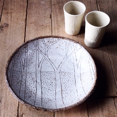 Large forest bowl