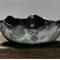 Bowl with Textured Surface, Black