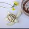 Ceramic Sea Turtle Figurine