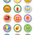 "Hey Duggee Edible Icing Cupcake Toppers - 2"" - PRE-CUT - EI086C"