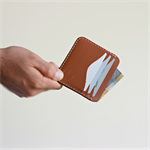 Slim Minimal Kangaroo Leather Cards & Cash Sleeve - The 'Seven' Pocket;Mens gift