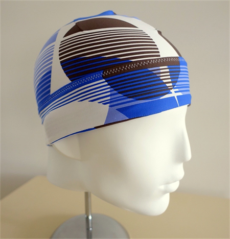 Beanie: all lycra for sunprotection, unisex, under cycle helmet, or hair-loss
