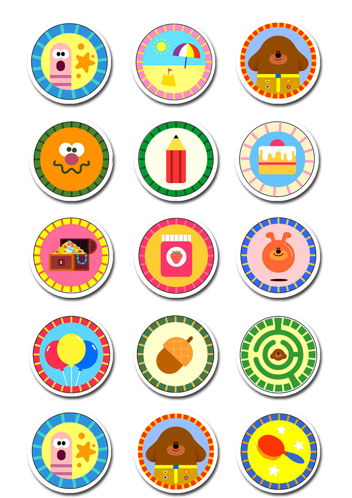 Hey Duggee Edible Icing Cupcake Toppers 2 Quot Pre Cut