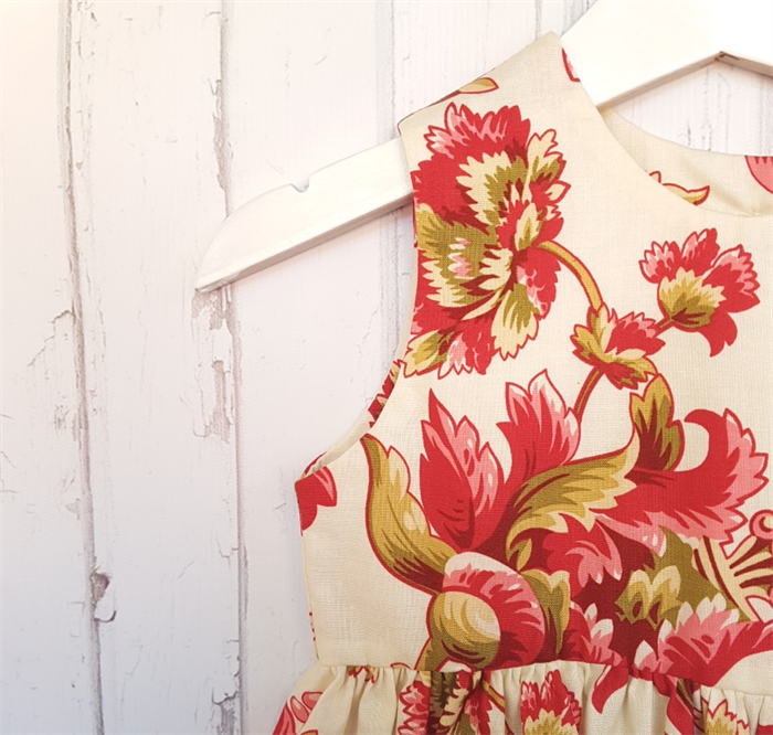 Dress - Size 1 - 1850s Fabric - 100% Cotton   Amy Myers