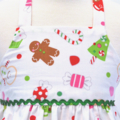 CHRISTMAS SALE -Size 6 to 9 months - Xmas Treats dress