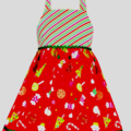 "CHRISTMAS SALE Size 1 - ""Red Treats"" Xmas Dress"